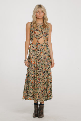 Image of Nocturnal Affair Maxi Dress Women - Apparel Dresses Casual