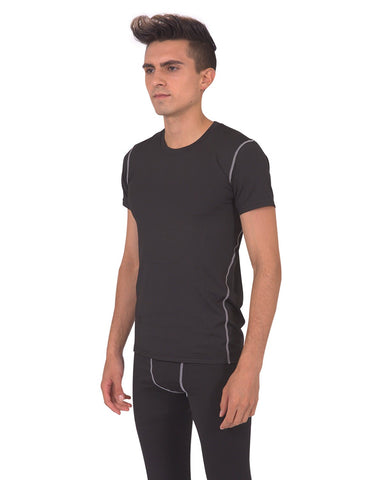Image of Burton Mens Tshirt - Black