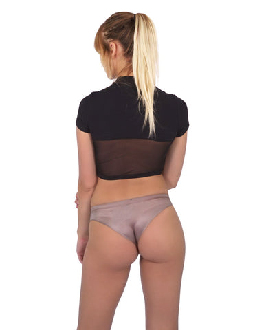 Image of Elden Seamless Underwear - Brown