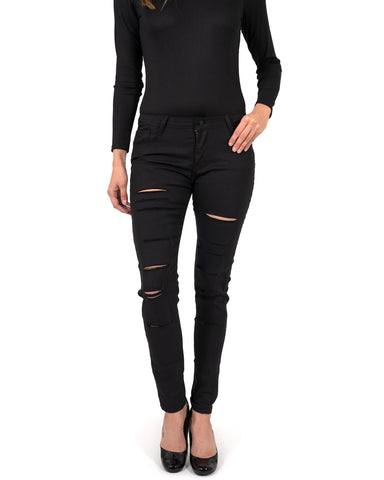 Image of Clifton Ripped High Waisted Skinny Jeans