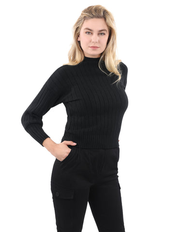 Pickfair Ribbed Sweater Top