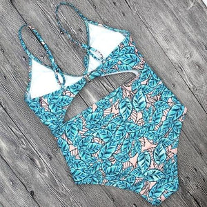 Charming Women Bikini Printing Swimwear Push-Up Womens Clothing