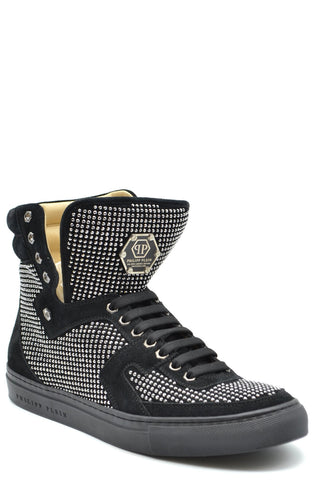 Image of Shoes Philipp Plein High-Top Sneakers -