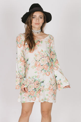 Image of Garden Party Tunic Dress Women - Apparel Dresses Casual