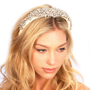 Crusted Crystals Headband Women - Accessories Hair