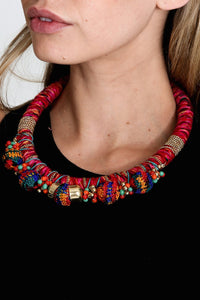 Embroidered Necklace Women - Jewelry Necklaces