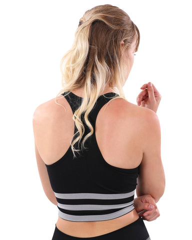 Image of Cassidy Sports Bra - Black