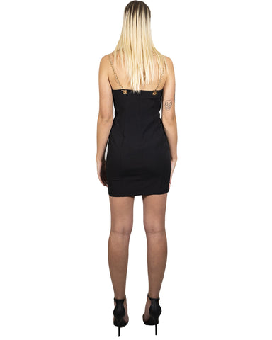Image of Delresto Mini Dress With Chain Straps