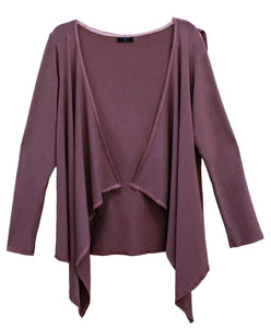 Jedi Yoga Hoodie Taupe Womens Fashion - Clothing Sweaters Cardigans