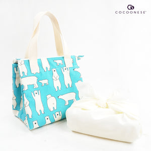 Insulated Lunch Bag - Polar Bear Romp