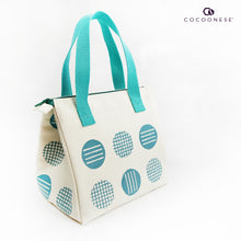 Load image into Gallery viewer, Insulated Lunch Bag - Circlemesh Collection (Ivory)