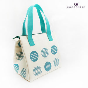 Insulated Lunch Bag - Circlemesh Collection (Ivory)
