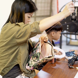 ( Oct 3 ) The Art Of Cotton Bag Making Workshop - Loop Handle Purse / Shoulder Strap Bag