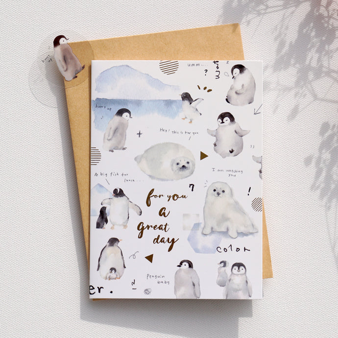 Greeting Cards _ Penguin