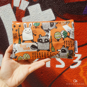 Zip Pouch - Naughty Rabbit