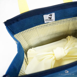 Insulated Lunch Bag - Circlemesh Collection (Navy)