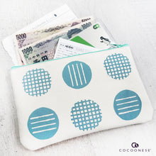 Load image into Gallery viewer, Zip Pouch - Circlemesh Collection (Ivory)