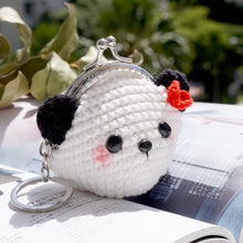 Load image into Gallery viewer, Animal Coin Purse with Key Chain - Panda