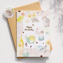 Load image into Gallery viewer, Greeting Cards _ Cocktail Bird
