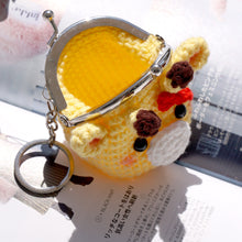 Load image into Gallery viewer, Animal Coin Purse with Key Chain - Giraffe
