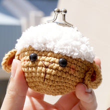 Load image into Gallery viewer, Animal Coin Purse with Key Chain - Sheep