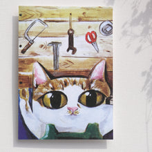 Load image into Gallery viewer, Postcards _ Wooden Healing | animals daily series |