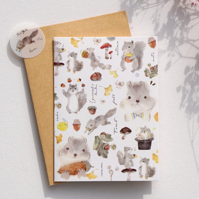 Greeting Cards _ Squirrel