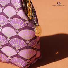 Load image into Gallery viewer, Clutch Purse - Fans (Purple)