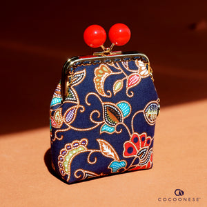 Clutch Purse - SIA Batik (Blue)