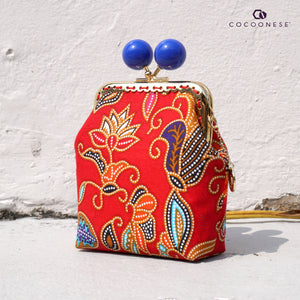 Clutch Purse - SIA Batik (Red)