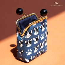Load image into Gallery viewer, Clutch Purse - French Bulldog