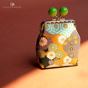 Clutch Purse - Hinagiku (Apple Green)