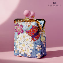 Load image into Gallery viewer, Clutch Purse - Cherry Blossom Fukuoka