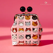 Load image into Gallery viewer, Clutch Purse - Meow Wo