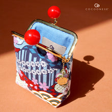 Load image into Gallery viewer, Clutch Purse - Natsume (Blue)