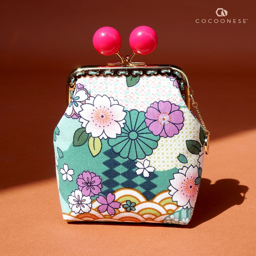 Clutch Purse - Natsume (Mint)
