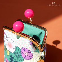 Load image into Gallery viewer, Clutch Purse - Natsume (Mint)