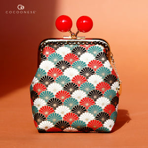 Clutch Purse - Kikkamon (Red)