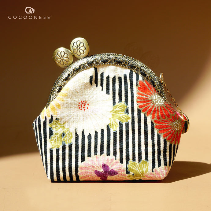 Clutch Purse Mini - Pink Daisy