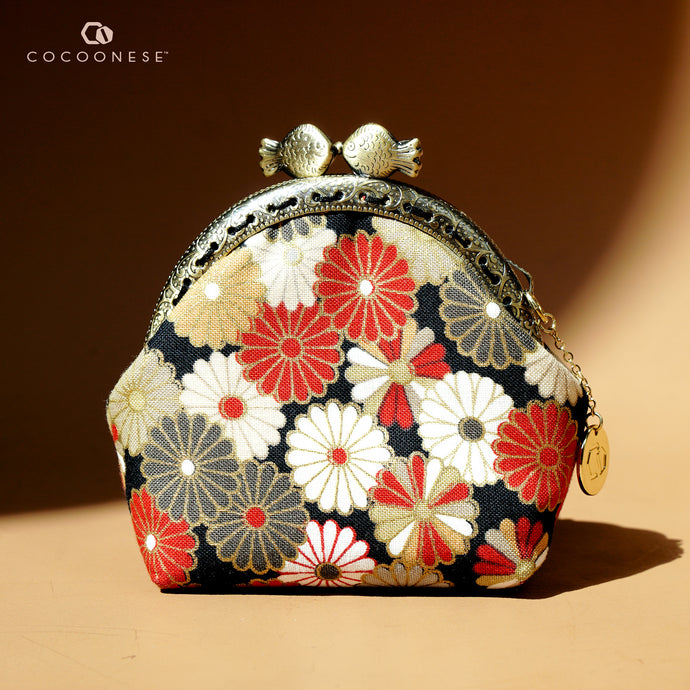 Clutch Purse Mini - Flower Rain