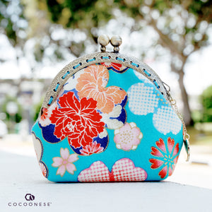 Clutch Purse Mini - River Blossom