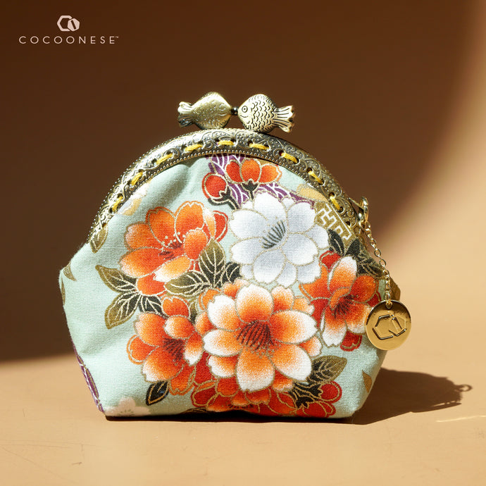 Clutch Purse Mini - Kanagawa