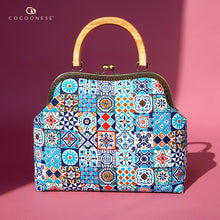 Load image into Gallery viewer, Clasp Handbag - Peranakan Tiles