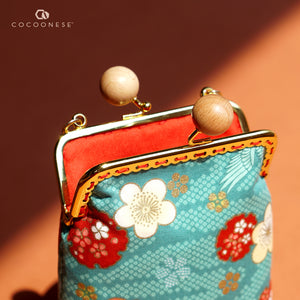 Cell Phone Purse - Crane Bird
