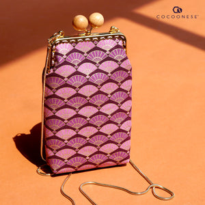 Cell Phone Purse - Fans (Purple)