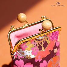 Load image into Gallery viewer, Cell Phone Purse - Sakura Clouds (Pink)