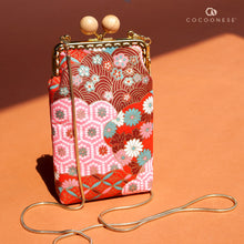 Load image into Gallery viewer, Cell Phone Purse - Hinagiku (Chili Red)