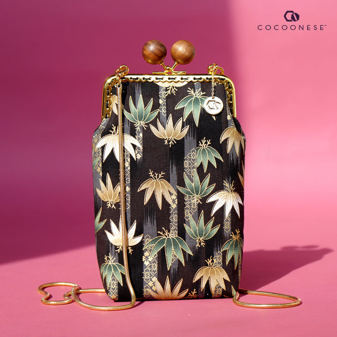 Cell Phone Purse - Clumping Bamboo