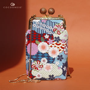 Cell Phone Purse - Natsume (Blue)