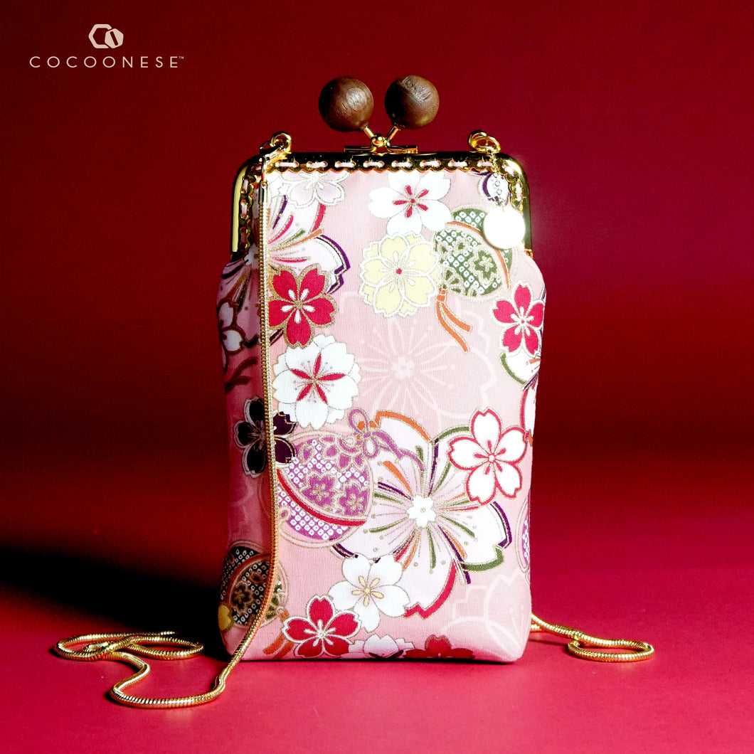 Cell Phone Purse - Sakura Forest (Pink)